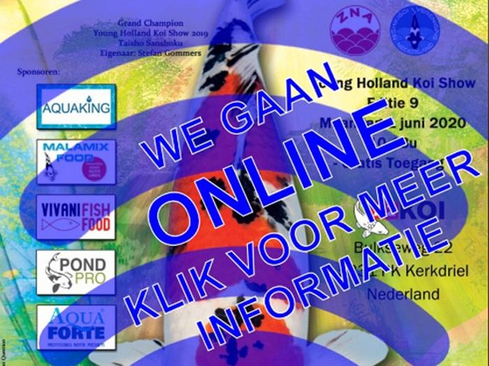 De online holland koi show 2020
