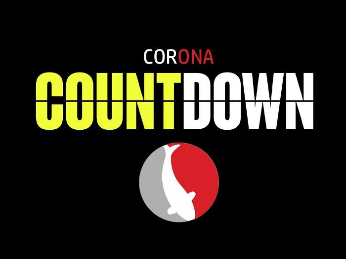 De corona countdown
