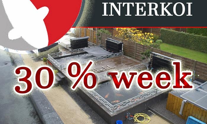 30% korting week