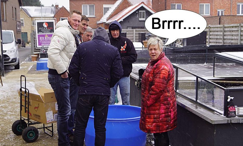 Brrrr...Het was bitter koud