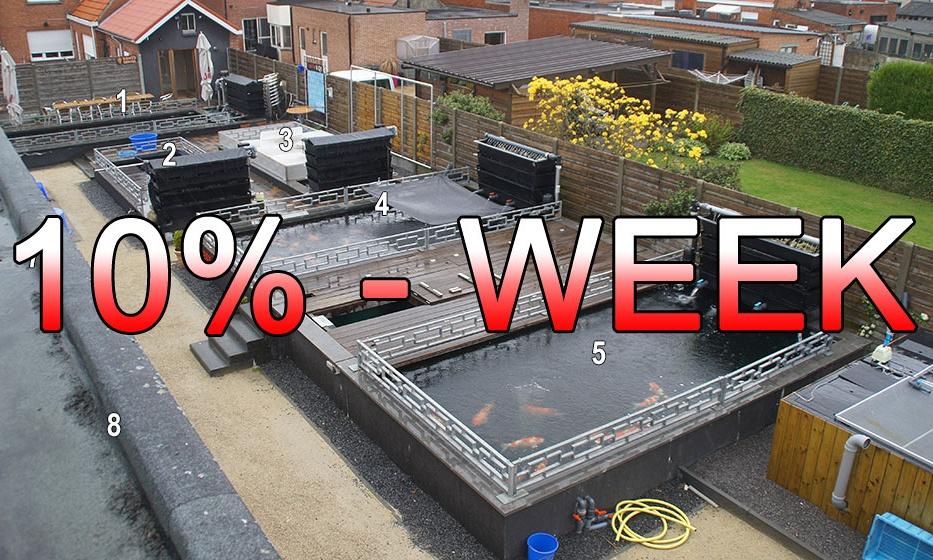 De 10% week is begonnen