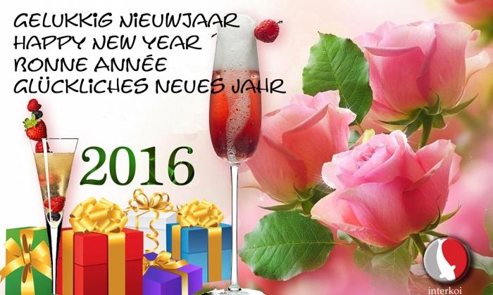 Een bijzonder gelukkig nieuwjaar