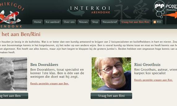 nieuw op de website