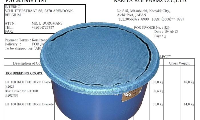 Verdere informatie Blauwe Bowls