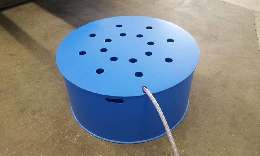 Wie wil er  nog een grote blauwe bowl
