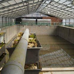 Een lege 1500 ton vijver: afbeelding 1