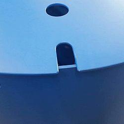 Wie wil er  nog een grote blauwe bowl: afbeelding 3